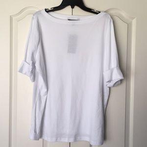 Lauren Ralph Lauren boatneck tee shirt